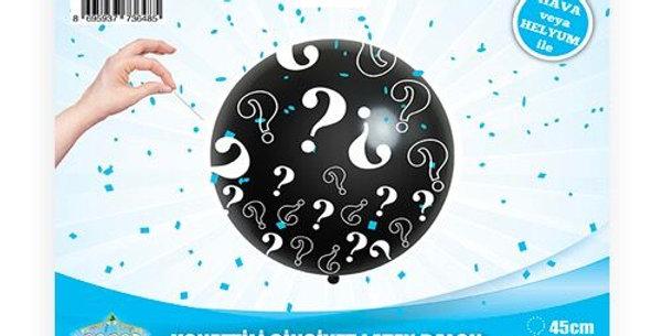 Cinsiyet Belirleme Partisi 45 cm Balonu Erkek
