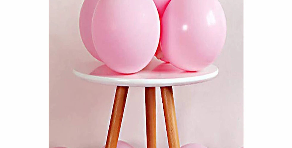 Makaron Pembe Balon 50 Adet