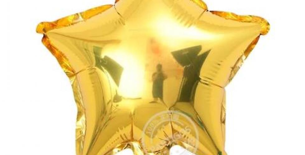 Yıldız Folyo Balon Gold (60 cm)