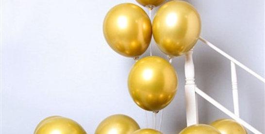 Krom Gold Balon 50 Adet