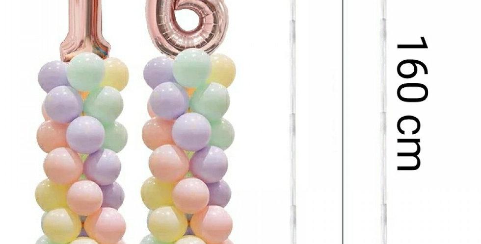 Sütun (Kule) Balon Standı 160 cm (A-Kalite)