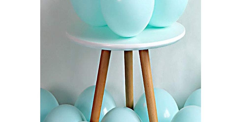 Makaron Yeşil Balon 50 Adet
