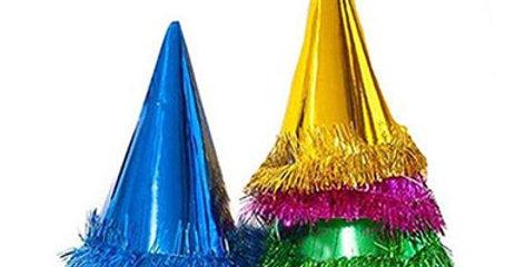 Yılbaşı Parti Şapkaları (6 adet)
