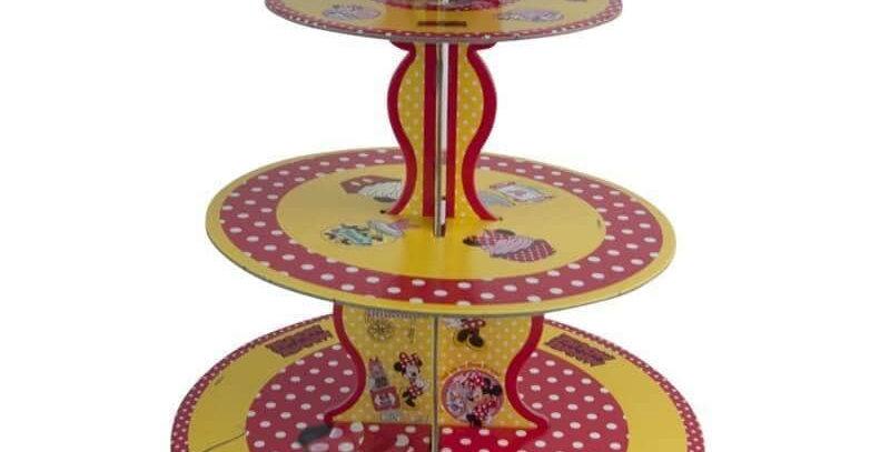 Minnie Mouse Kek Standı 3 Katlı