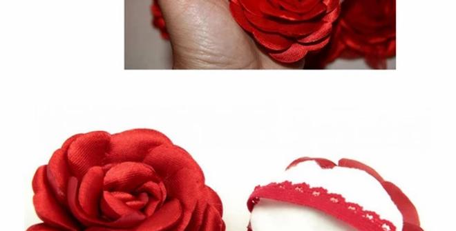 Kına El Gülü-Kırmızı 10 Adet