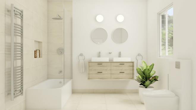 JONAAS by BRICK, Salle de bain scandinave
