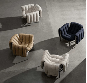 Fauteuils Jacomo Design Paris France