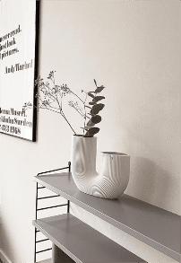 Vase blanc scandinave