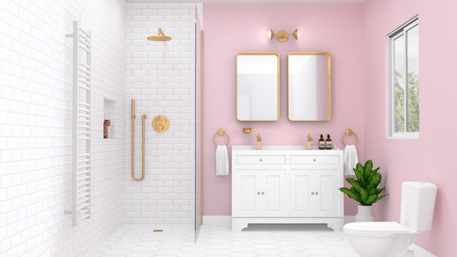 JEAN by BRICK, Salle de bain classique chic