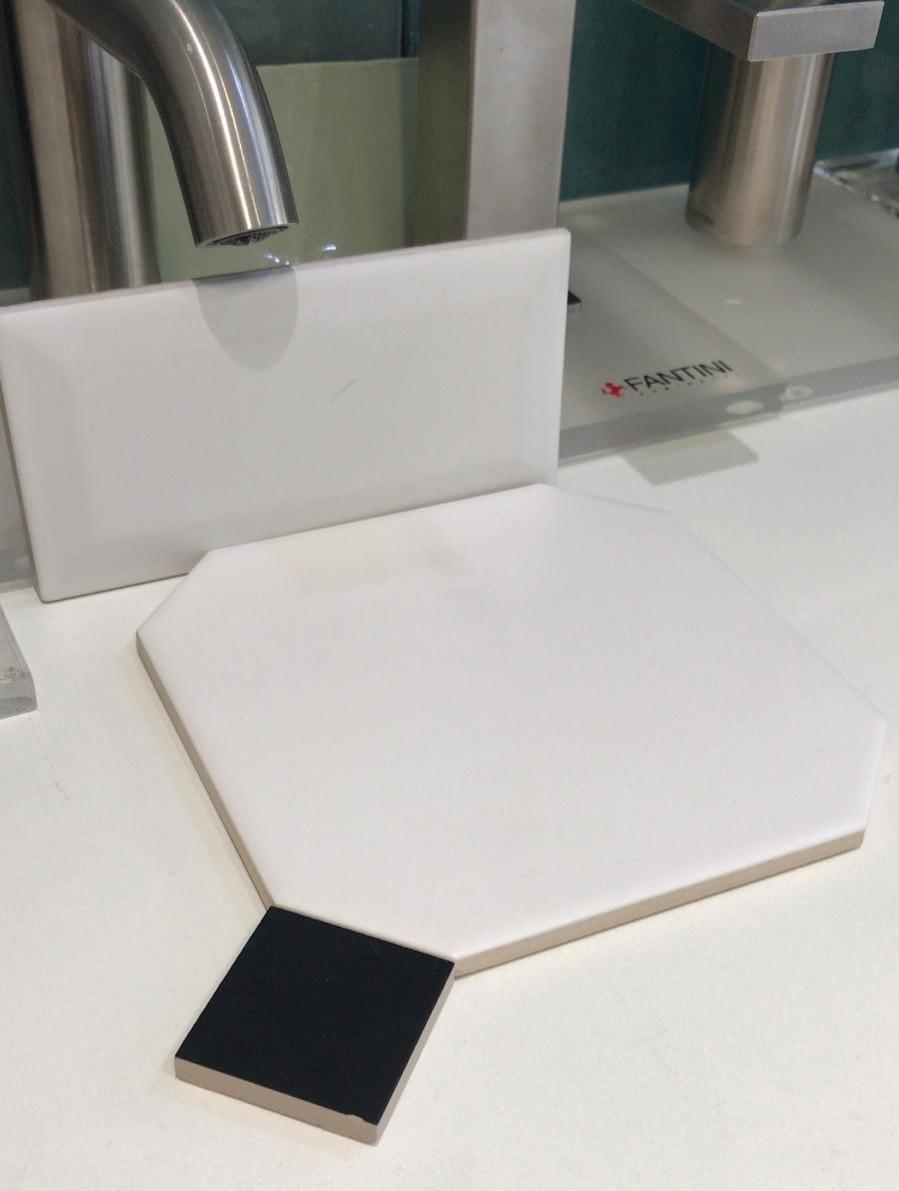 Sélection et approvisionnement carrelage cabochon salle de bain classique chic BRICK rénovation