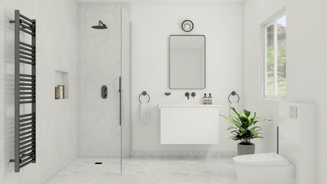 JACOMO by BRICK, Salle de bain contemporaine