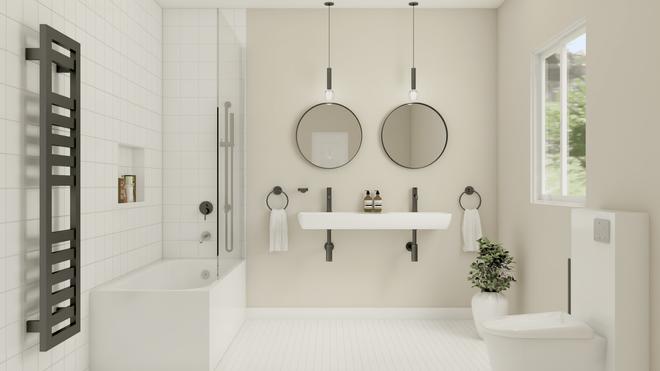 JAAN by BRICK, Salle de bain moderne