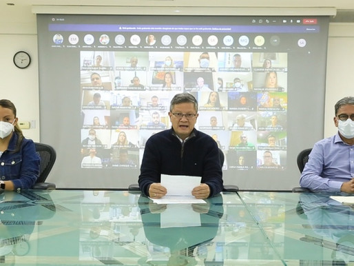 Gobernador (e) Luis Fernando Suárez, convoca a todos los ciudadanos a un gran diálogo Social.