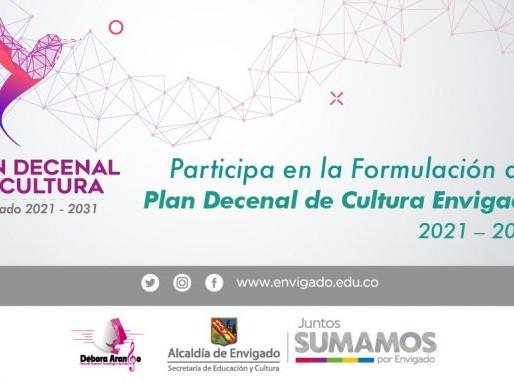 Actualiza tus datos y participa en la formulación del Plan Decenal de Cultura Envigado 2021 – 2031