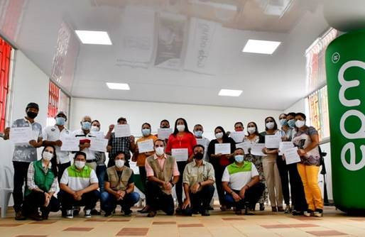EPM y la U. de Antioquia graduaron líderes del Norte y el Bajo Cauca antioqueño