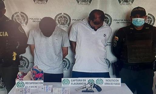 Capturadas 67 personas comprometidas en hurtos mediante diferentes modalidades
