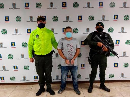 Capturado alias 'naranjo' del cartel de los más buscados de Medellín