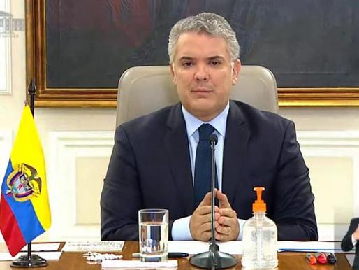 Presidente Duque pide a miembros del CRIC regresar a sus resguardos