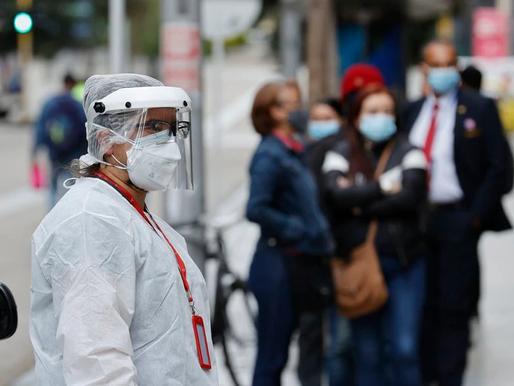 Colombia rompe récord cuarto día consecutivo: 30.000 nuevos casos de Covid-19 hoy viernes 4 de Junio
