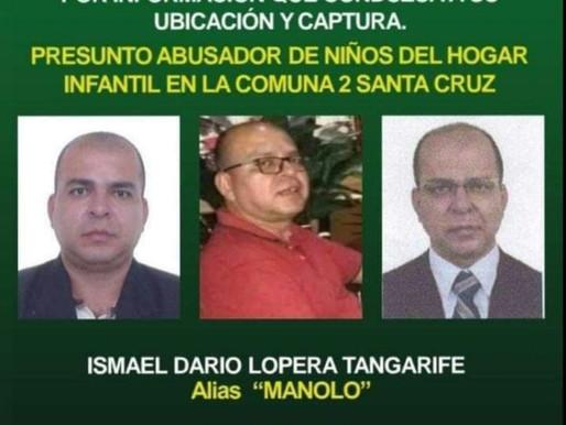 Se Busca Alias Manolo Presunto  Abusador de Niños en Santa Cruz.