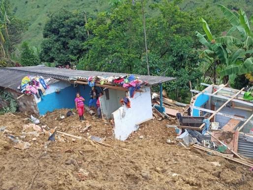 Una persona fallecida y 66 familias albergadas es el saldo final por las lluvias