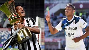 Cuadrado y Muriel en el equipo ideal de la temporada en la Serie A