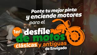 ¡Anímate a participar en el Primer Desfile de Motos Clásicas y Antiguas de Envigado!