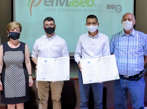 Enviaseo certificación ambiental de calidad ISO 14001 y la renovación en la norma ISO 9001:2015