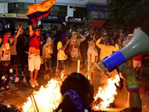 El 20 de julio la Policía y el Ejército de Colombia se alistan para garantizar la seguridad.