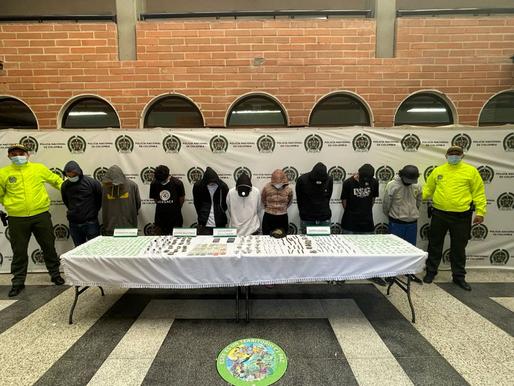 """En menos de 8 días una nueva captura: 2 coordinadoresy 7 presuntos integrantes del GDO """"Pachelly"""""""