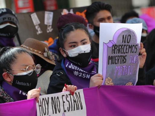 Los asesinatos de mujeres y niños encienden las alarmas en Bolivia