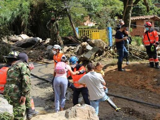 Informe de la creciente de la quebrada del Hato en la vereda Potrerito de Bello