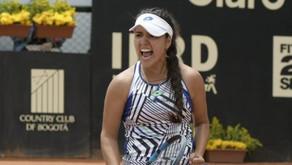 María Camilia Osorio ingresó al TOP 100 WTA y se convierte en la quinta colombiana en hacerlo