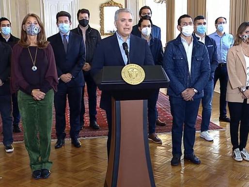 Presidente Duque retiró la reforma tributaria