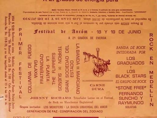SE FUE CAROLO... Creador del Festival Ancón del año 1971