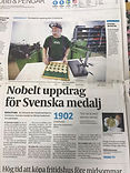 Eskilstuna-Kuriren Nobelt uppdrag för Svenska Medalj