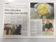 Eskilstuna-Kuriren Här tillverkas medaljernas medalj