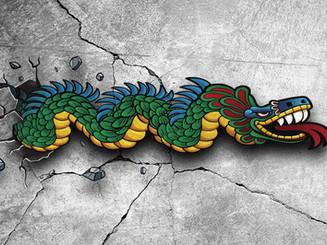 The Dragon Mural
