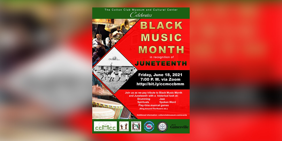 The Cotton Club Museum and Cultural Center Celebrates Juneteenth and Black Music Month (1)