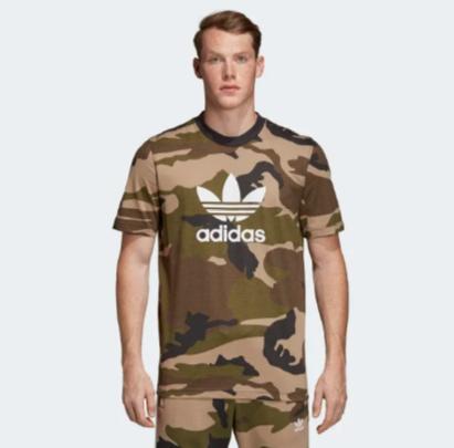 d1cc9077 Adidas Camouflage Trefoil SS Tee DV2067