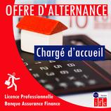 Offre d'alternance: Chargé d'accueil - Secteur Bancaire /Référence : T003