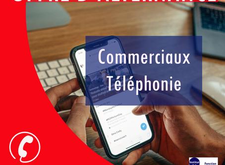 OFFRES D'ALTERNANCE : COMMERCIAUX TÉLÉPHONIE