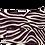 Thumbnail: Purple Linen Flock Velvet