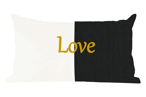 Love Phrase Pillow