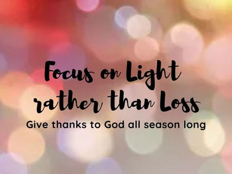 Focus on Light rather than Loss