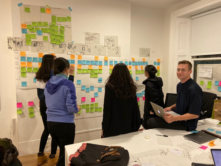 Ideation with team