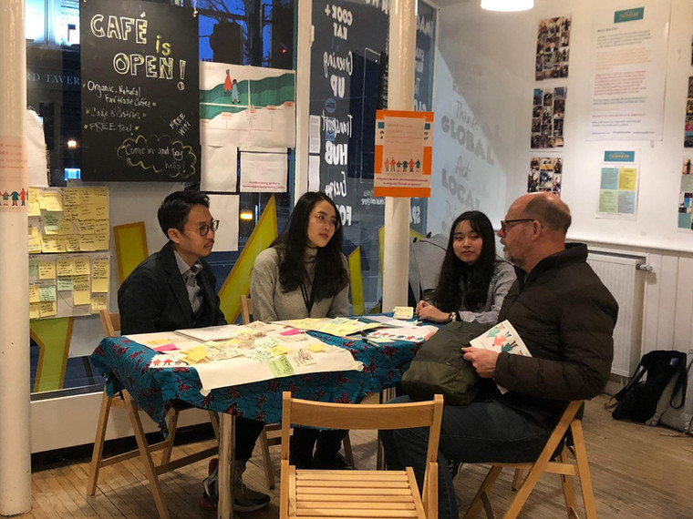 Workshop with the citizens in the UK
