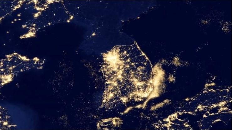 잠재의식 한반도의 밤