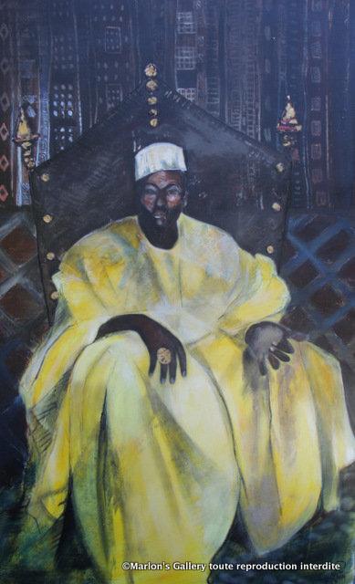 Le Roi TZONGOR,130/80 Acrylique/toile