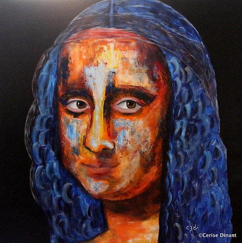 3 -La JocondeOil on canvas80 x 80 cm